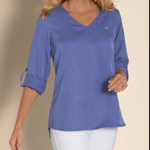 Soft Surroundings Tencel Tunic Medium Petite